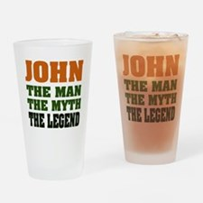 JOHN - The Legend Pint Glass