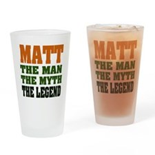 MATT - The Legend Pint Glass