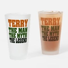 TERRY - the legend Pint Glass