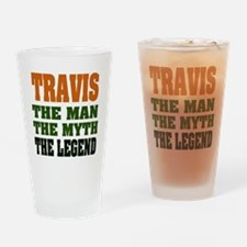 TRAVIS - The Legend Pint Glass