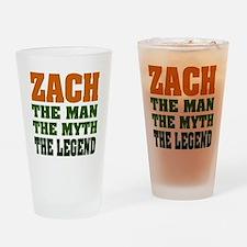 ZACH - The Legend Pint Glass
