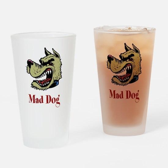 Mad Dog Pint Glass