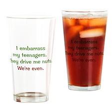 I Embarass my Teenagers Pint Glass