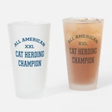 AA Cat Herding Champion Pint Glass