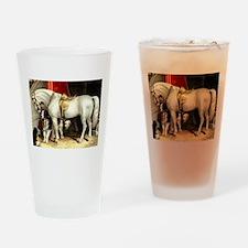 White Horse Pint Glass