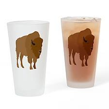 Buffalo Pint Glass