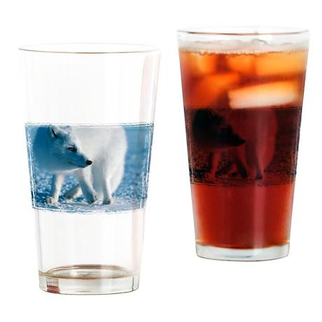 Artic Fox Pint Glass