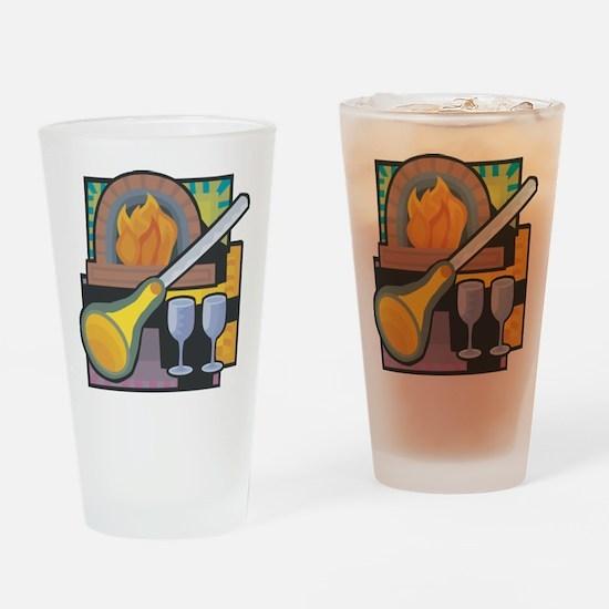 Glass Blowing Pint Glass
