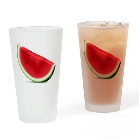 Watermelon Pint Glass