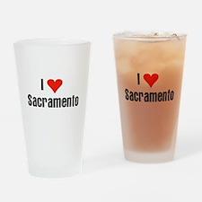 I Love Sacramento Pint Glass