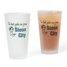 Best Girls Sioux City Pint Glass