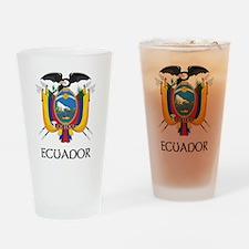 Ecuador Coat of Arms Pint Glass