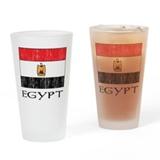 Egypt Flag Pint Glass