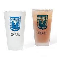 Israel Pint Glass