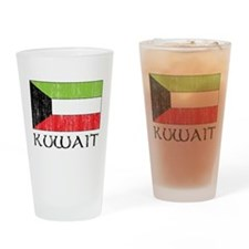 Kuwait Flag Pint Glass