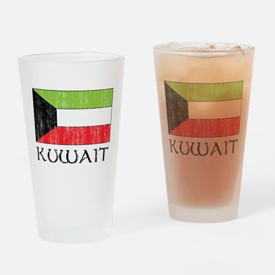 Kuwait Flag Pint Glass