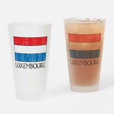 Luxembourg Flag Pint Glass