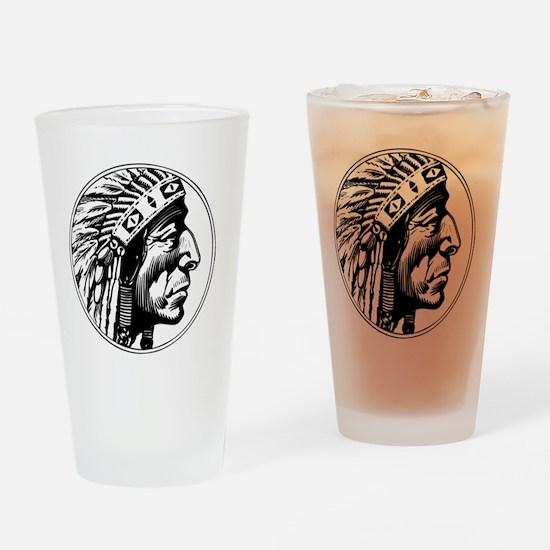 Indian Head Pint Glass