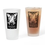 Pisces Pint Glass