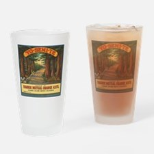Yosemite Fruit Crate Label Pint Glass