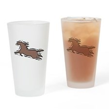 Running Horse Pint Glass