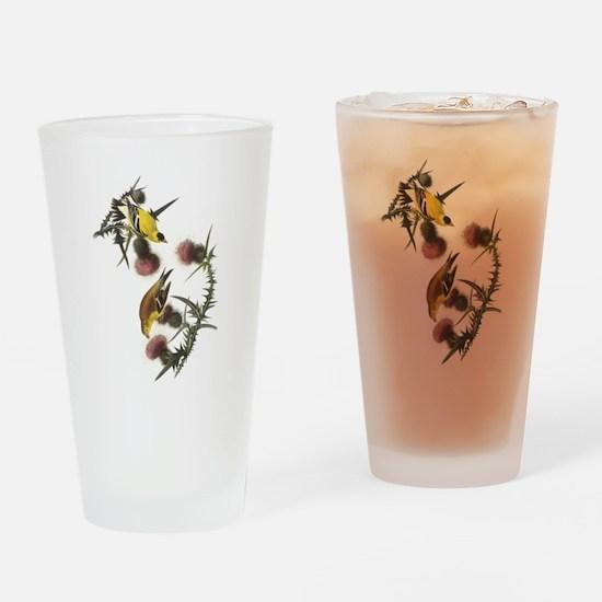 American Goldfinch Pint Glass