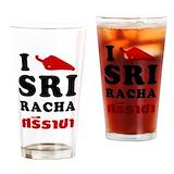 Sriracha Pint Glasses