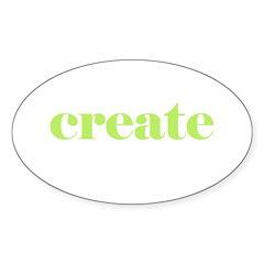 create Oval Decal