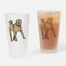 Macaque Pint Glass