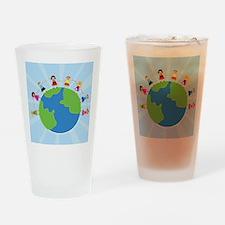 Kids Around the World Pint Glass