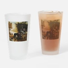 The Peaceable Kingdom Pint Glass