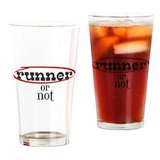 Runner! or not Drinking Glass