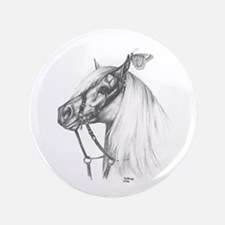 """Welsh Pony 3.5"""" Button"""