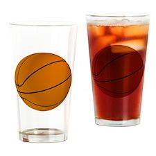 Basket Ball Drinking Glass