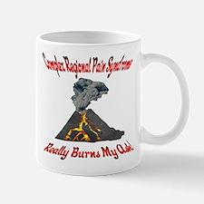 CRPS Really Burns My Ash Erup Mug