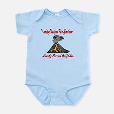 CRPS Really Burns My Ash Erup Infant Bodysuit