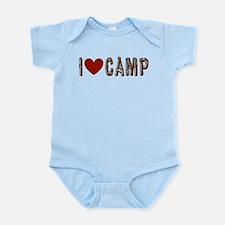 I heart camp Infant Bodysuit