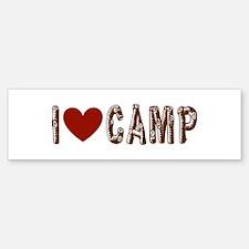Outdoor, Hunting, Camping Bumper Bumper Sticker