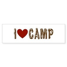 Outdoor, Hunting, Camping Bumper Sticker