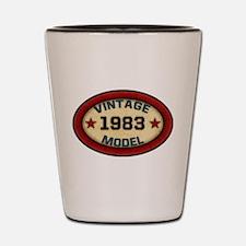 Birthday Vintage Model Year Shot Glass