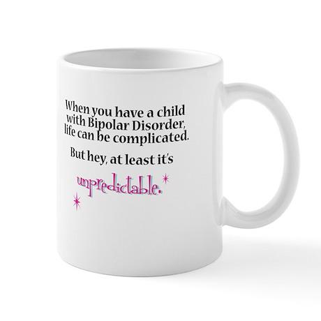 Bipolar unpredictable mug