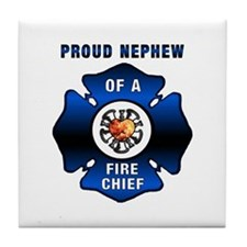 Fire Chief's Nephew Tile Coaster