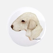 "Bedlington Terrier 3.5"" Button"