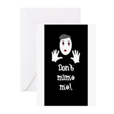 Don't Mime Me! Greeting Cards (Pk of 20)