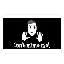 Don't Mime Me! Postcards (Package of 8)
