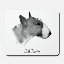 Coloured Bull Terrier Mousepad