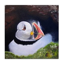 Puffin Tile Coaster