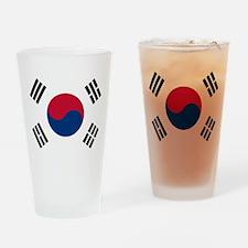 Korean Flag Drinking Glass