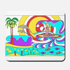 Seabelle Dances with Dolphins (Mousepad)
