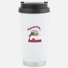 Awesome Being Belizean Stainless Steel Travel Mug